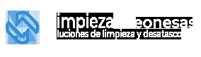 Logotipo footer Limpiezas Leonesas